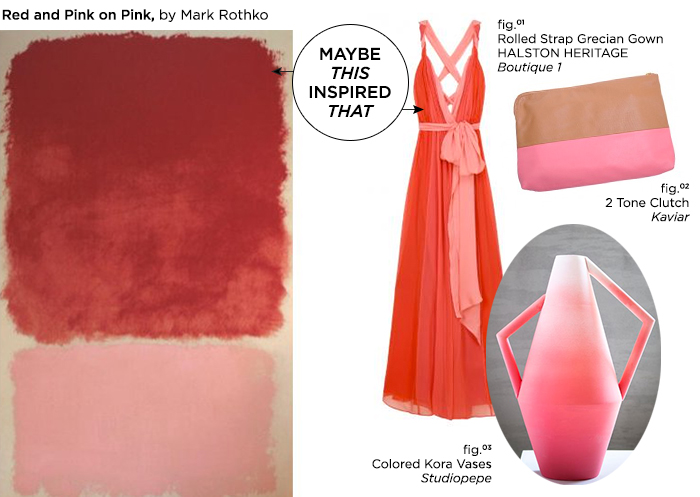 Maybe This Inspired That // Red and Pink on Pink by Mark Rothko