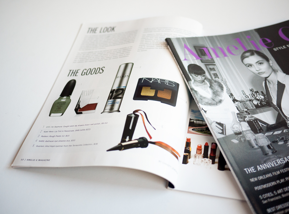 Amelie G Magazine Design 2
