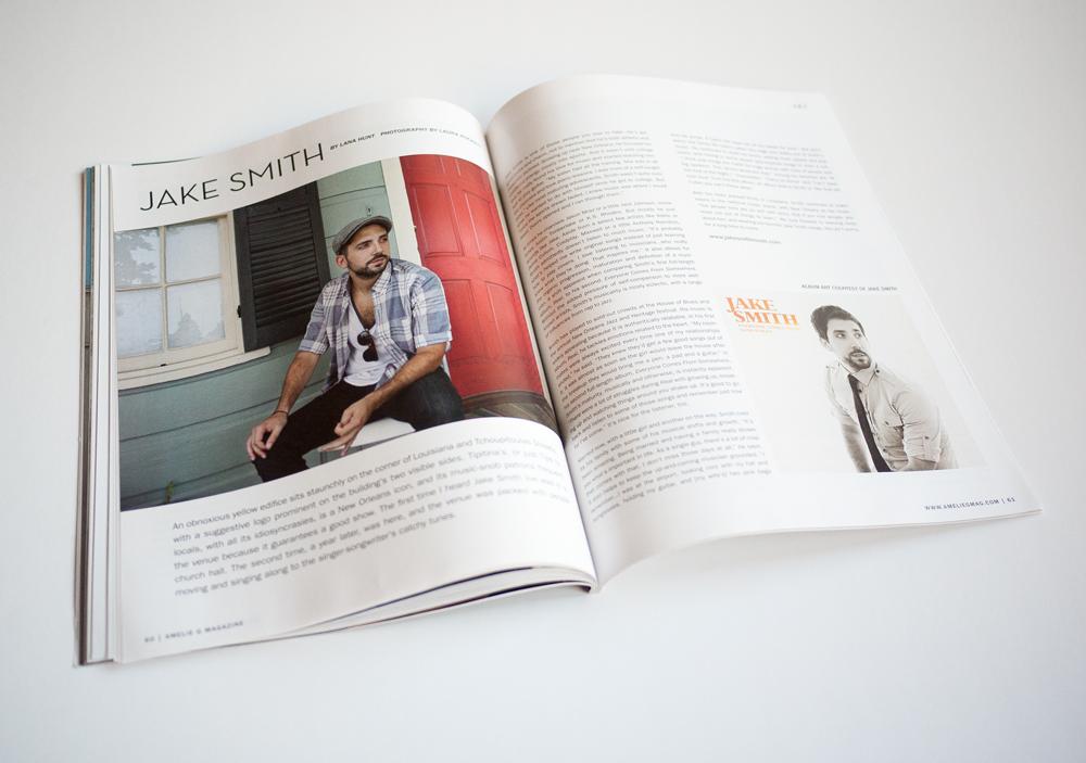 Amelie G Magazine Design 3