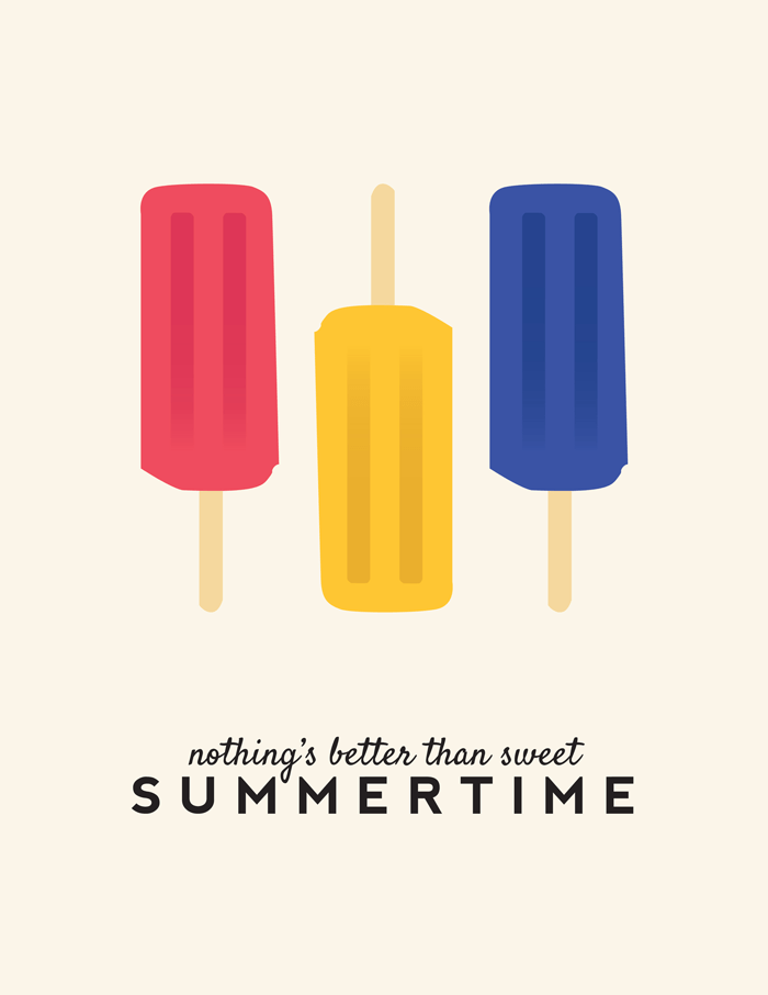 Nothing's Better Than Sweet Summertime Printable
