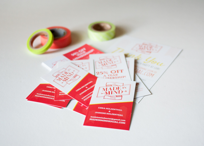 The Made In Mind Social Cards by CieraDesign.com