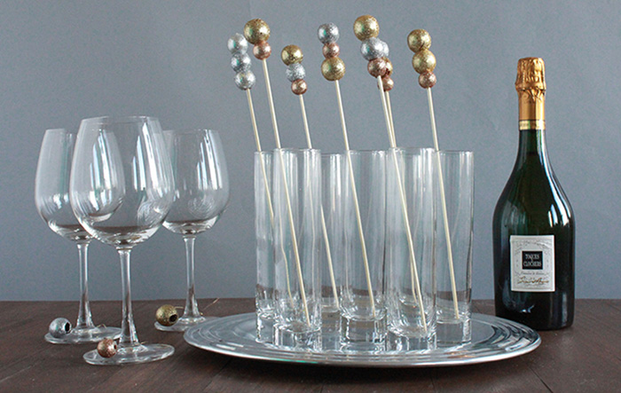 Having A Ball Drink Stirrers DIY