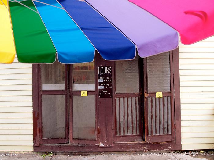 Plum Street Snowballs New Orleans Doors