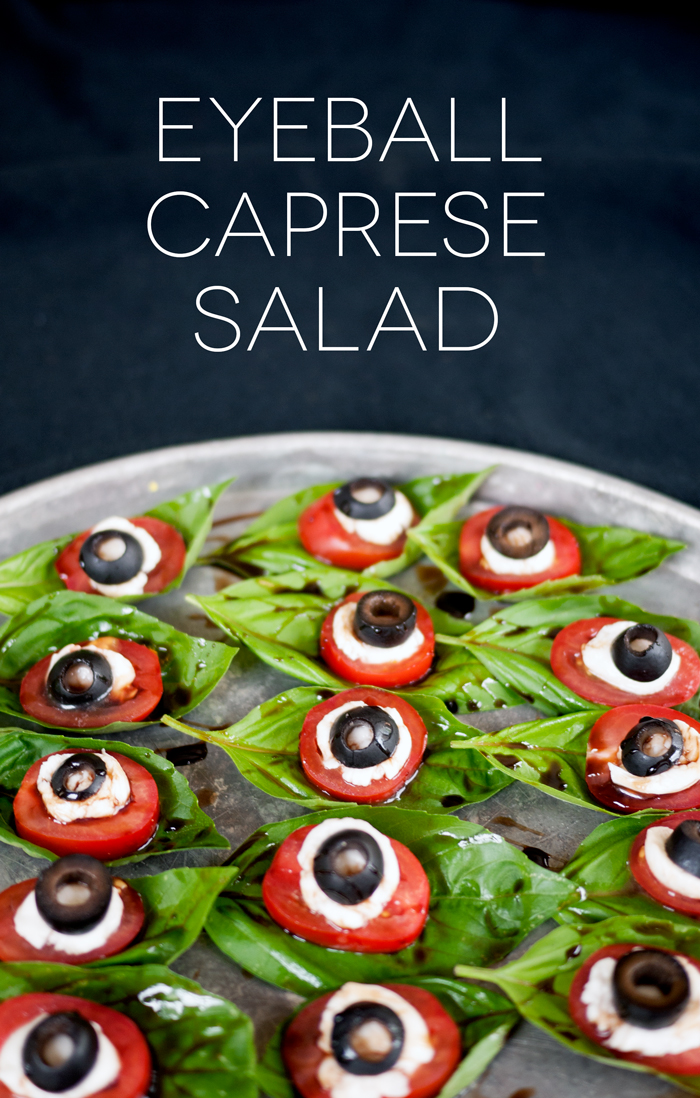 Halloween Eyeball Caprese Salad