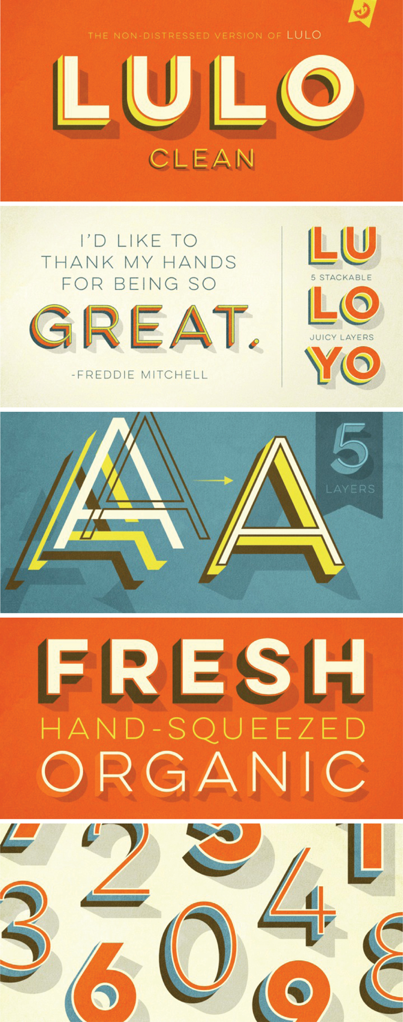 Lulo Clean Font Samples