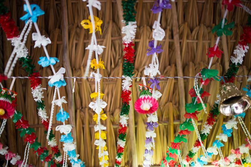 El Tacoqueto Local Floral Decor Tulum Mexico