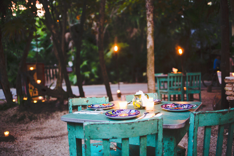 Romantic Jungle Dinner