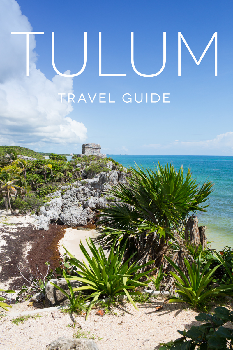 Tulum Mexico Travel Guide - from the ruins and ocean to the jungle and cenotes