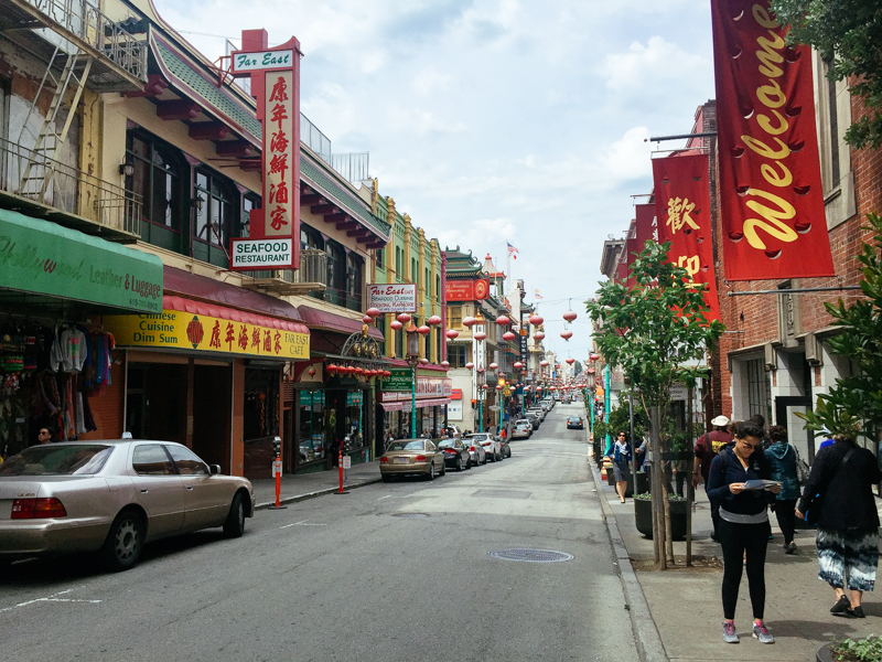 San-Francisco-Travel-Guide-China-Town-Street