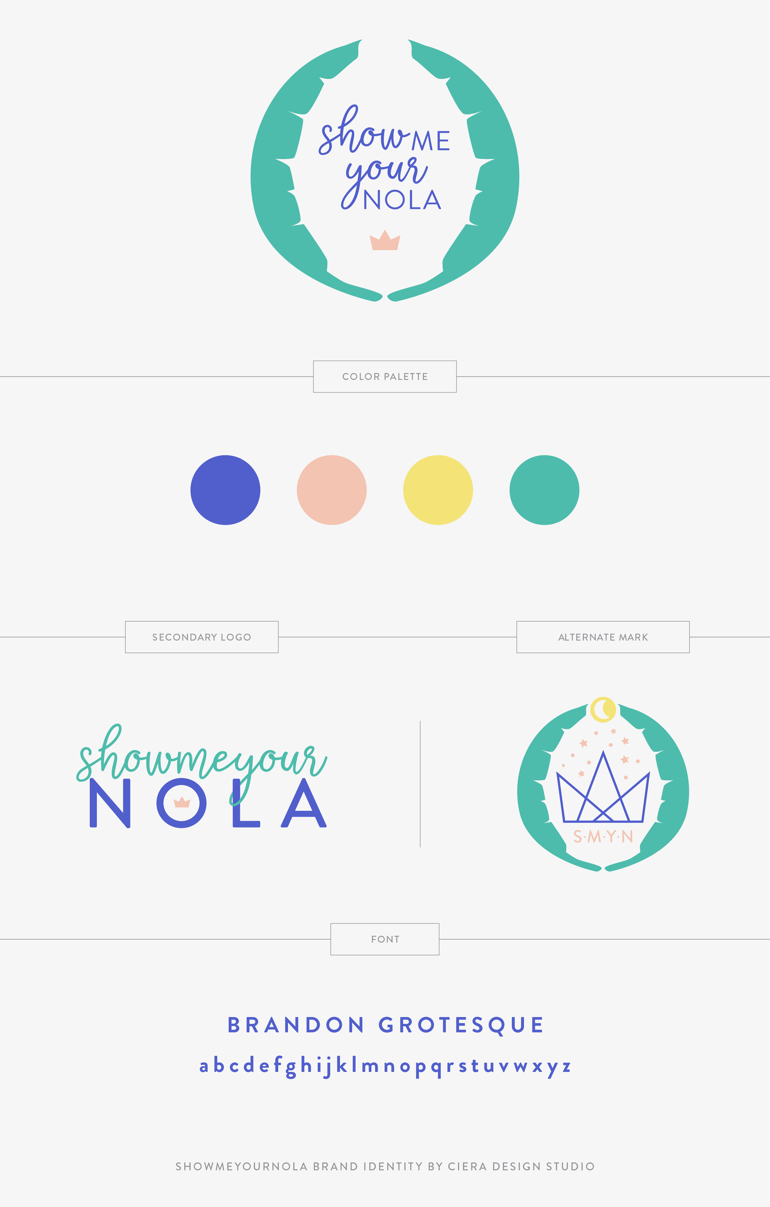 We created a clean, simple and chic logo that also expresses the fun, whimsy and magic of New Orleans. The brand identity is friendly and joyful while also showing the expertise, reliability and authenticity of founder Danielle Granger Nava. The brand image targets Millennial women, professionals, entrepreneurs and lovers of food & travel. Ciera Design Studio has been helping creative businesses stand out and exceed their biggest goals through strategic design & branding since 2010.