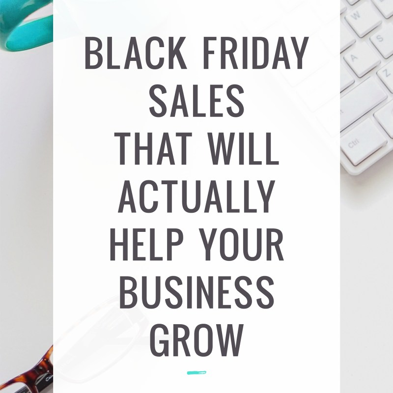 Black Friday sales that will help your business grow