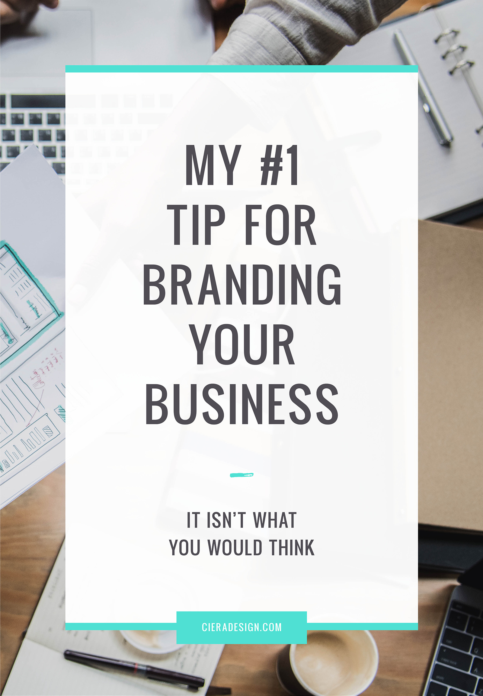 "I was recently asked, ""What is your best tip for branding a business?"" And you may be surprised that my answer was not ""hire a designer to create an amazing logo"" or wasn't really design related at all...⠀"