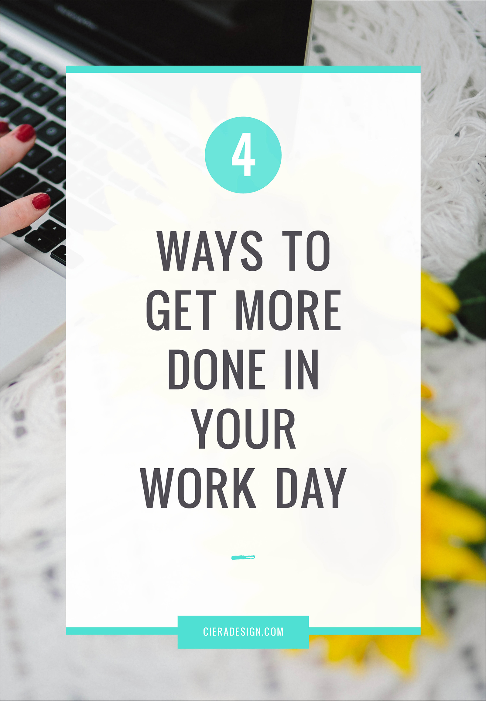 As a small business owner, you only have so much time in the day to get everything done. Sure, you could work overtime or start work especially early in the morning to give yourself a fighting chance, but this could lead to burnout if you push yourself too hard.  Thankfully, there are some simple ways to get more things done each day, without the problem of exhaustion affecting your life. Take a look at our ideas.