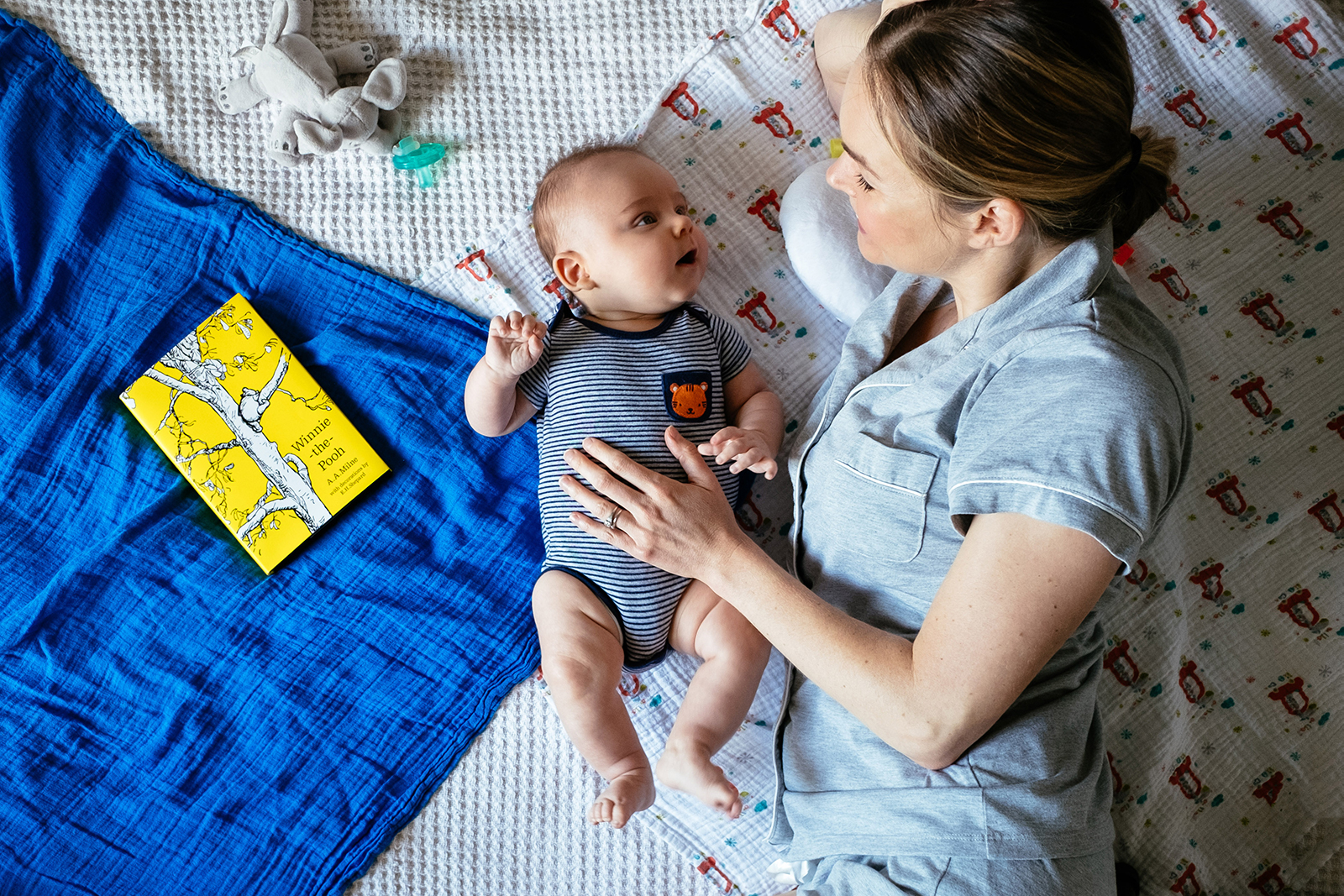 4 Tips From My First Few Months of Motherhood - don't be anxious to set a schedule too early