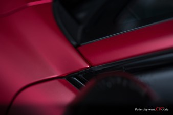 Alfa Romeo Giulia -Cherry Red - CiFol-Werbetechnik 03
