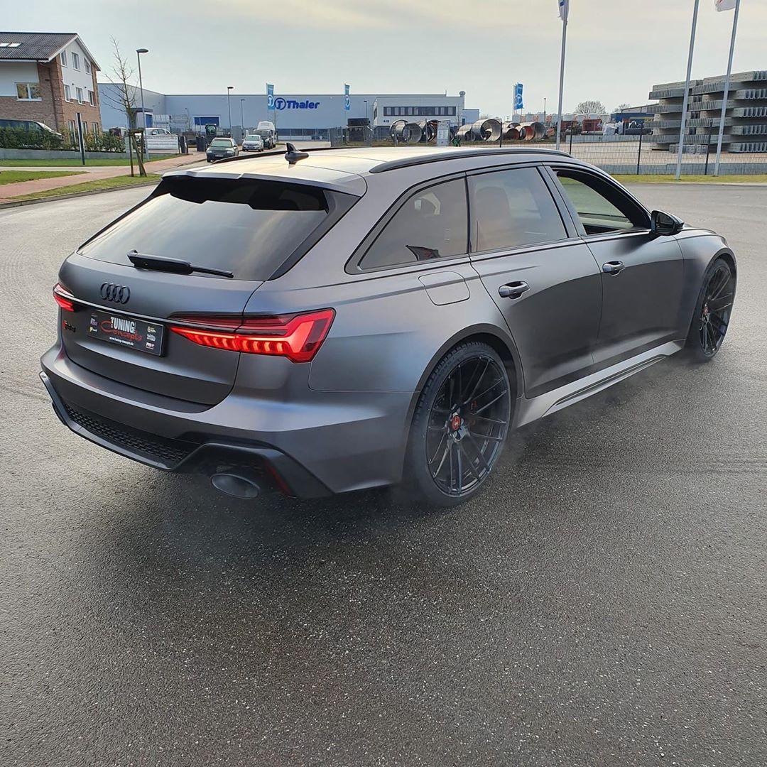 Audi RS6 c8 - Satin Dark Gray