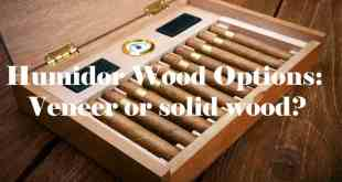 Humidor Wood Options