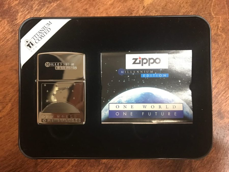 Zippo One World Collectible Lighter