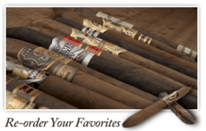 premium cigar of the month club reordering