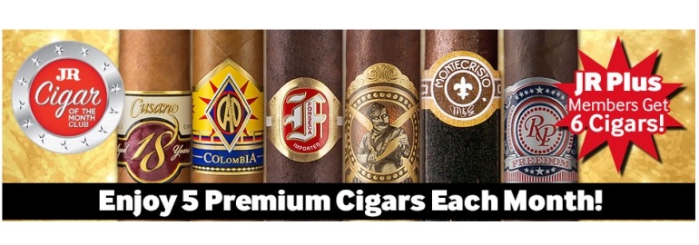 JR cigar of the month club