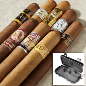 8 cigars and a humidor deal