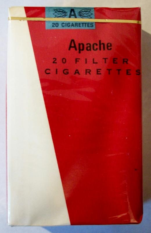 Apache Filter Kings - vintage American Trademark Cigarette Pack