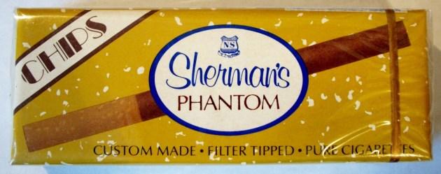 Nat Sherman's Phantom - Chips - Queen Size, vintage American