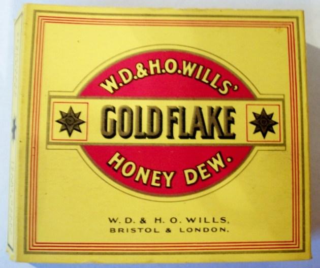 Gold Flake Honey Dew - vintage British Cigarette Pack