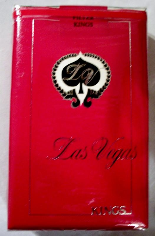Las Vegas Kings - vintage American Cigarette Pack