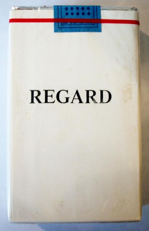 Regard king size - vintage Trademark Cigarette Pack