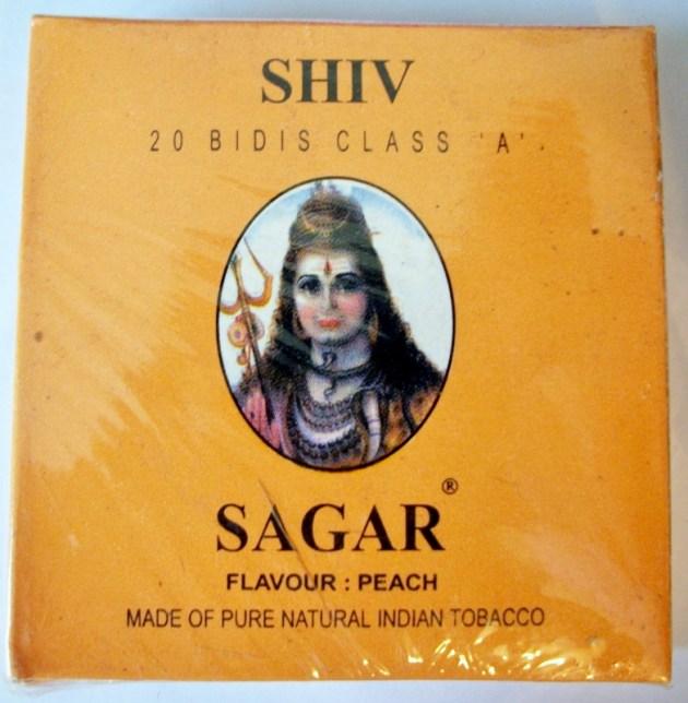 Shivsagar Peach - vintage Indian Cigarette Pack