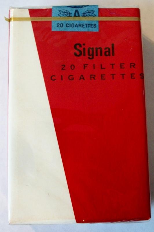 Signal, Filter King Size - vintage Trademark Cigarette Pack