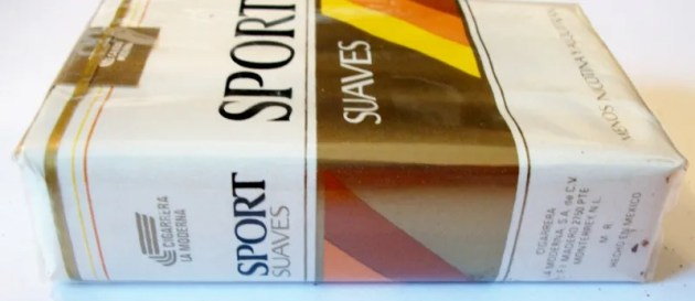 Sport Suaves, King Size - vintage Mexican Cigarette Pack