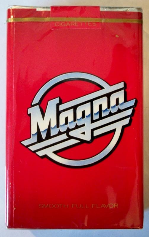 Magna Full Flavor, King Size - vintage American Cigarette pack