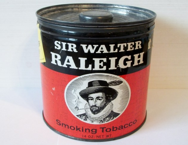 Sir Walter Raleigh Smoking Tobacco 14 oz. can