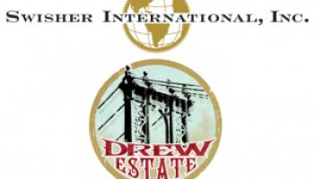 swisher international logo. drew estate sells to swisher international logo