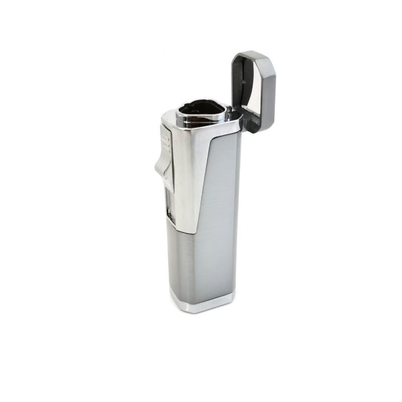 Eurojet - Triple Flame Torch Lighter - Silver