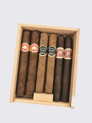 Crowned Heads 6-Shooter Sampler Image.