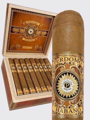 Perdomo Habano Bourbon Barrel Aged Connecticut Robusto