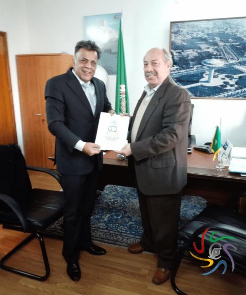 Encuentro con el embajador de la Liga Árabe 4