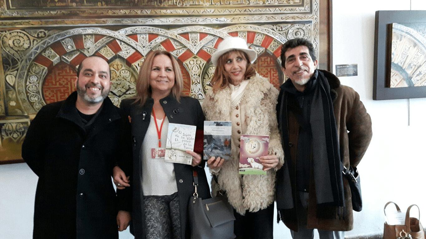 Presentaciones de libros en la I Feria del Libro Hispanoárabe de Córdoba