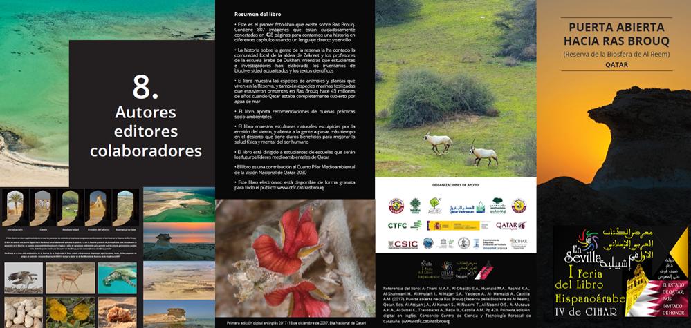 Un libro de 807 imágenes de la naturaleza en Ras Brouq – Qatar