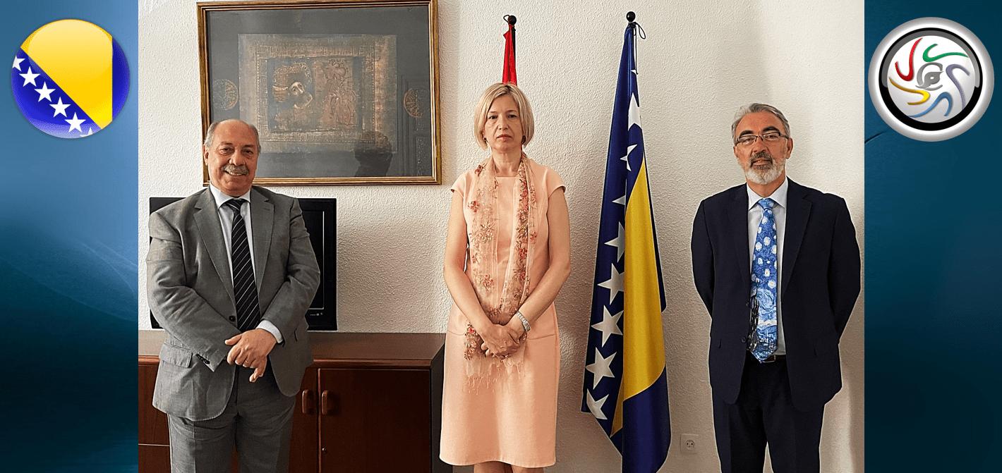Entrevista con la Excma. embajadora de Bosnia y Herzegovina, en España