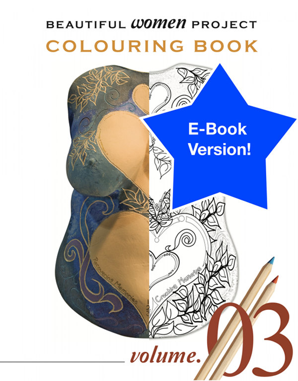 Beautiful Women Project Colouring Book – Volume 3 (E-book)