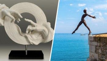Сучасні скульптори вражають своїми творіннями, яким позаздрив би Мікеланджело