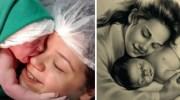 Після народження малюк обійняв маму за обличчя! Миле відео двох щасливиць!