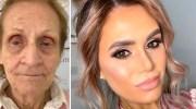 Візажистка за допомогою косметики омолодила свою 80-річну бабусю