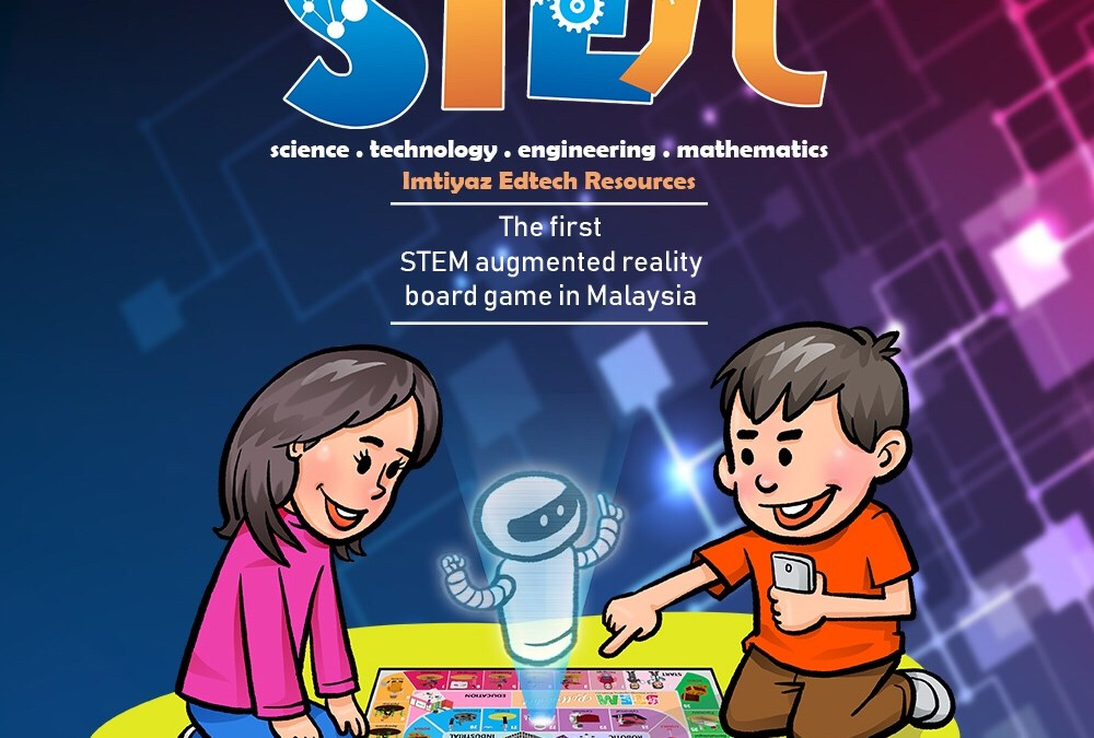 STEM roll-a-dice : The first STEM augmented reality board game in Malaysia