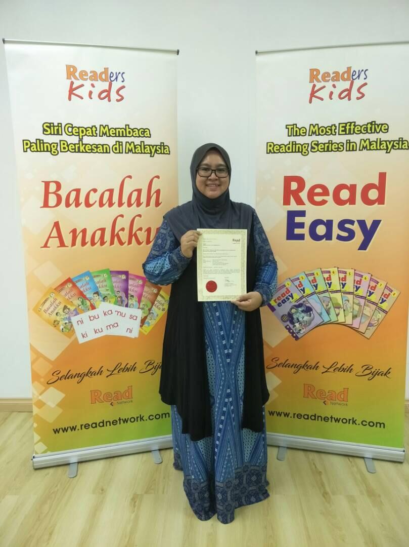 Certified Trainer Bacalah Anakku Dan ReadEasy