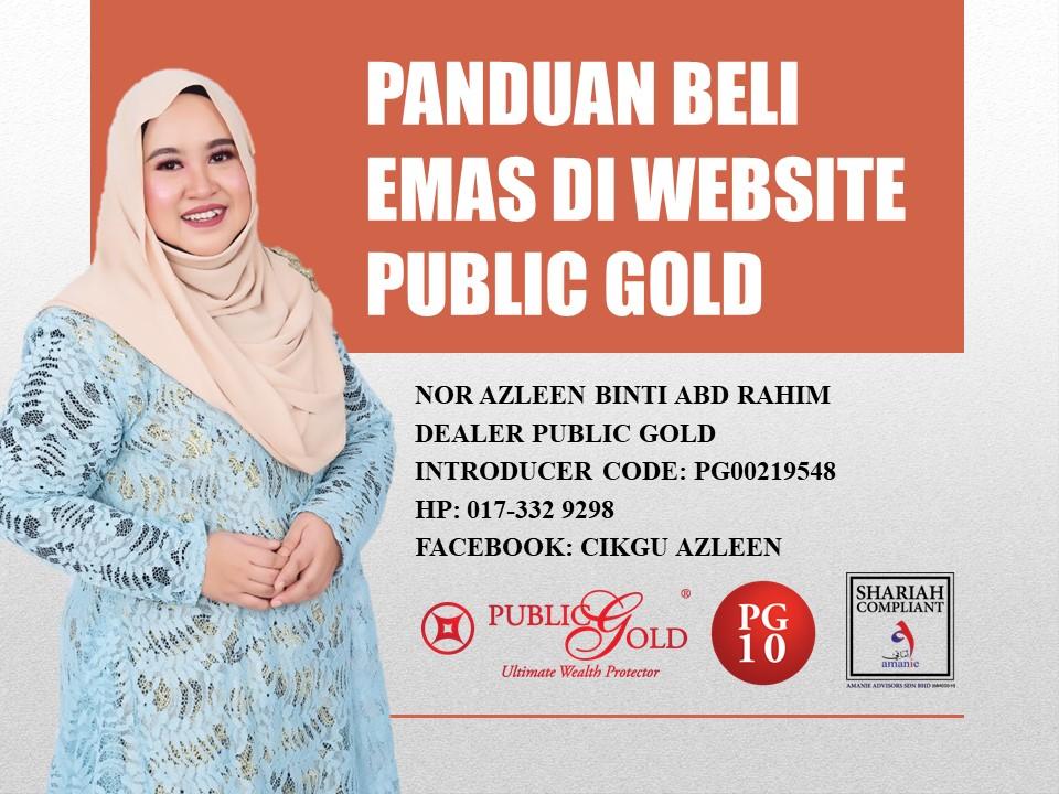 Panduan Beli Emas Fizikal Di Website Public Gold